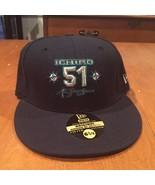 Ichiro Suzuki Seattle Mariners Hat New Era 59Fifty new with stickers 6 7... - $20.78