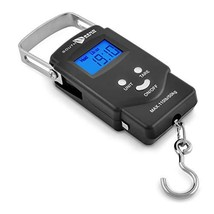 South Bend Digital Hanging Fishing Scale with Backlit LCD Display, 110lb... - $17.22