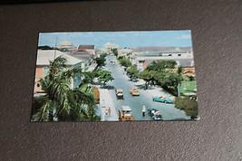 Old Vintage Postcard 1960 Famous Bay Street Nassau Bahamas RPPC Photo Au... - $9.99