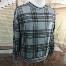 Chaps Ralph Lauren men's sweater Crested size XL Multicolored 100% cotton - $22.69