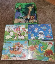Puzzles for Kids Ages 4-8,  Jigsaw 60 Pieces Preschool Toddler Set of 4 - $13.50