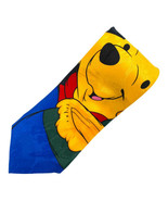 Pooh Winnie The Pooh Smiling Face With Honey Jug Polyester Tie Necktie - $11.87