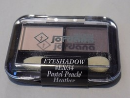 Jordana Eye Shadow Duo-*Pastel Peach/Heather ES/34- Free Shipping!!! - $4.99