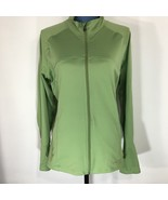 Champion Women's Green Zip Front Long Sleeve Athletic Workout Jacket XL - $16.39