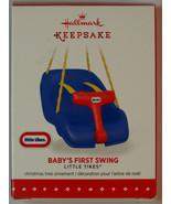New! Hallmark Keepsake Ornament: Little Tikes Baby's First Swing 2015 - $14.80