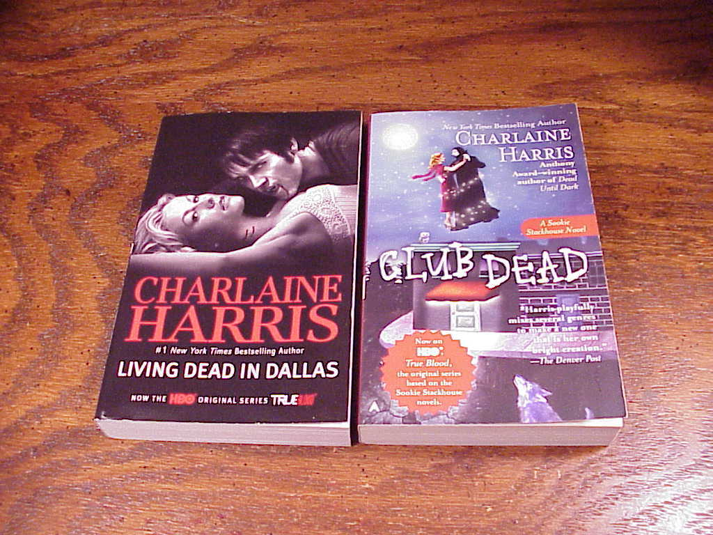 Lot of 7 Sookie Stackhouse Series PB Books by Charlaine Harris, 2 3 4 5 6 7 8