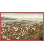 Bergen Norway Town view 1911 Postcard BJs - $7.99