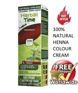 100% NATURAL MORELLO HENNA COLOUR CREAM HERBAL HAIR COLORANT DYE READY T... - $4.99