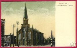 NEWARK OHIO First Methodist Church UDB 1910 - $7.50