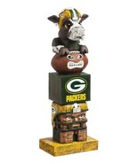 """Green Bay Packers NFL Team Garden Statue Totem Tiki 16"""" Tall Indoor/outd... - $32.62"""