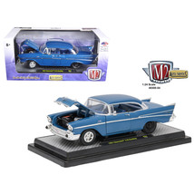 1957 Chevrolet 210 Hardtop Sleeper- Hot Rod/Drag Car Harbor Blue Metalli... - $38.85