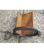 Tobacco cutter cast iron and wood - $129.95
