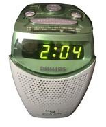 Phillips Green AJ3132 Gentle Wake Alarm Clock AM/FM Radio 9V Battery Backup - $59.99