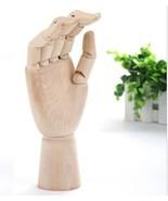 BOHS Mannequin Sketch Drawing Practice Manikin Hand Wooden Dummy Model M... - $22.49