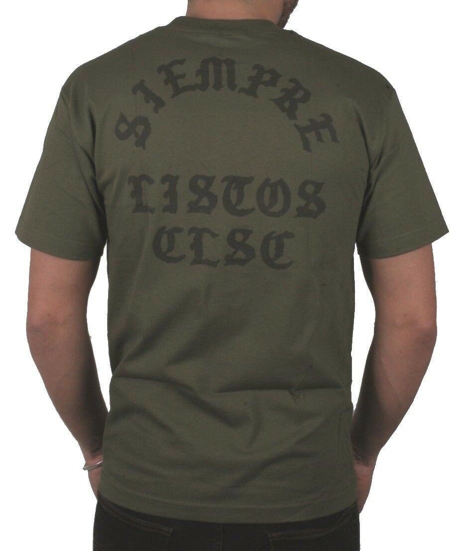 CLSC Classic Always Ready Military Green Men's T-Shirt Siempre Listos T-Shirt NW