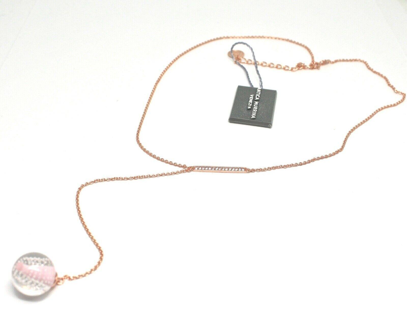 Collar Antica Murrina Venezia de Plata 925 con Cristal de Murano AMVJWCP009C03 image 3