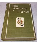 Vintage Antique The Standard Hoyle Games Book 1913 - $10.00