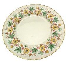 Royal Doulton Chatsworth dinner plate Yellow H4794 - $28.03