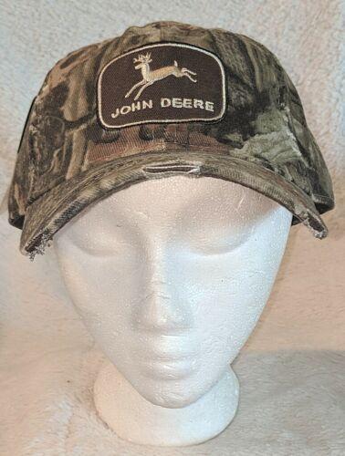 John Deere LP55387 Mossy Oak Hook And Loop One Size Ball Cap