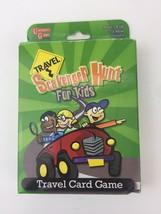 Travel Scavenger Hunt Card Game for Kids, Travel Card Game 2015 - $4.95