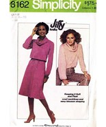 Vintage 1977 Misses' KNIT TOP & SKIRT Pattern 8162-s Size Large (18-20) - $10.00