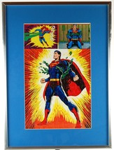 Superman Puzzle Mounted Framed 1973 DC Comics National Periodical Public... - $35.00