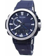Casio - PRW-60-2ADR - ProTrek Alarm World Time Quartz Analog-Digital Men... - $494.95