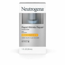 Neutrogena Rapid Wrinkle Repair Moisturizer SPF 30 with Retinol 29ml FRE... - $25.55