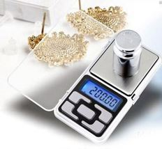 500g/0.1g Digital Electronic Pocket Diamond Jewelry Gold Balance Scale F... - €12,30 EUR
