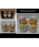 MWAH Magnetic Salt & Pepper Shakers Kissing Baby Chickens NIB Free Shipping - $9.99
