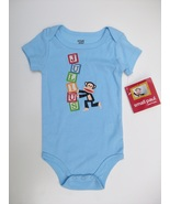 Infants Small Paul by Paul Frank Onesie, Julius, 12 Mo, Blue, NWT - $9.50