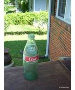 VINTAGE 1 LITER SIZE GLASS COKE COCA COLA BOTTLE 33.8 FL.OZ. (1 QTS)  - $40.00