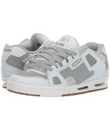 MENS GLOBE SABRE SKATEBOARDING SHOES NIB WHITE GREY GUM - $94.99