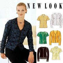 New Look (Simplicity) 6814 Misses Blouses (Size 10-22) Sewing Pattern - $9.80