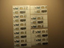 USPS Scott 2059-62 20c 1983 Streetcars Lot Of 4 Plate Block 38 Stamps Mi... - $22.00