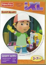 Fisher-Price iXL Learning System Software Disney Handy Manny Game 3 - 7 ... - $6.92