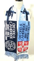 OXFORD & CAMBRIDGE Boat Race LONDON England Scarf Country Wear TEAM - $18.99