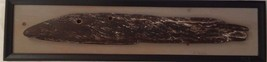 "Framed Art Driftwood Wall Hanging 36"" x 9"" Signed Estelle Nelson - $168.91"