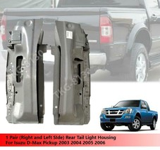 1 Pair Rear Tail Light Housing Lamp For Isuzu Dmax D-Max 2003 2004 2005 ... - $187.00