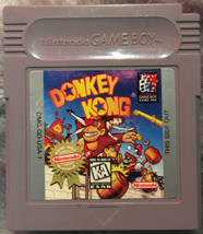 Donkey Kong Nintendo Game Boy Game Pak Cart. 1994 (DMG-QD-USA-1) Authentic Japan - $19.74