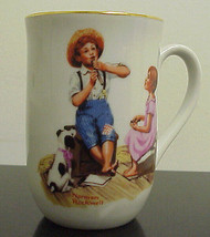 Vintage & Collectible Norman Rockwell Museum Music Master Coffee Cup B-1034 - $4.99