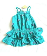 Crazy 8 Butterfly Tiered Ruffle Dress 18 24 months NWT cotton - $11.24