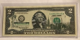 NEW YORK  $2 Two Dollar Bill - Colorized State Landmark - Uncirculated A... - $14.36