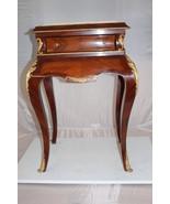 "Rectangular Tea Table -  Size: 21""L x 16""W x 30""H. - $725.00"