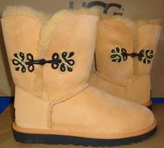 Ugg Australia Rabbitbrush Bailey Gold Mariko Short Boots Size Us 7 New #1009264 - $94.00