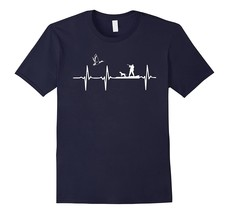 Duck Hunting Waterfowl Hunter Heartbeat T-Shirt Men*67NU - $17.95+