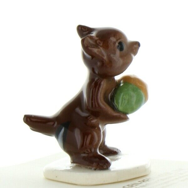 Hagen Renaker Miniature Chipmunk Papa with Acorn Miniature Figurine