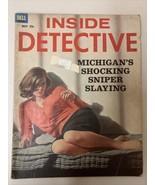 Inside Detective (1963) Crime Magazine Dell Michigans Shocking Sniper Sl... - $12.19