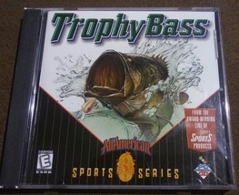 Trophy Bass All American Sports Series - 1998 Sierra Sports PC CD-ROM Fishing - $5.39