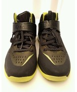 Adidas Shoes RG3 RG III Boost Trainer Robert Griffin Size 7 Black Yellow - $22.76